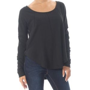 Lucky brand High low long sleeve thermal top